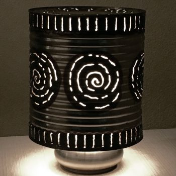 Limited Edition Silver Lamp – $45