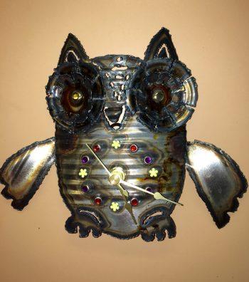 Small Owl Clock – $30