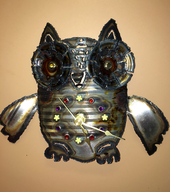 Small Owl Clock – $30