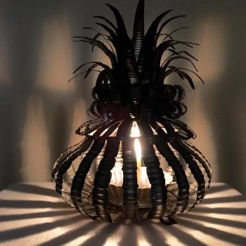 Squash Pineapple Lamp – $75 & $95