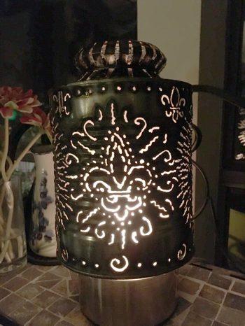 Fleur de Lis Lantern – $35