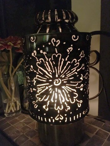 Hearts Lantern – $35