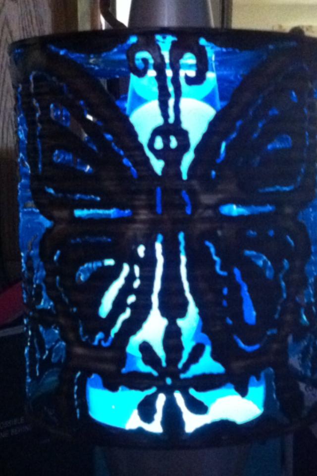 Butterfly Lavalamp &ndash $105