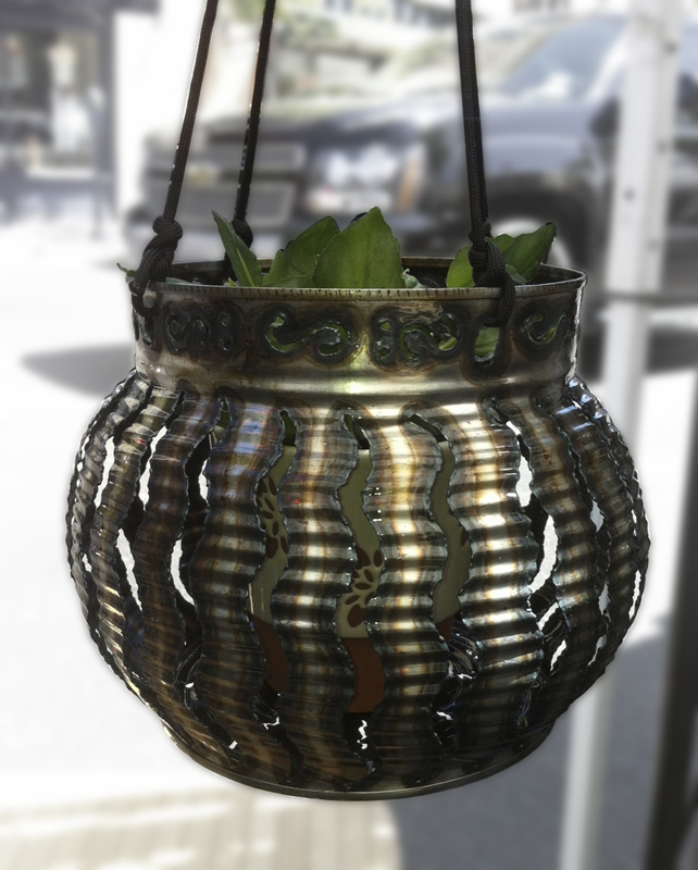 Large Hanging Planter – $35