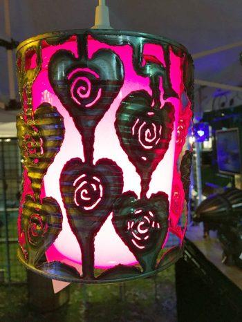 Hearts Poly Shade – $70