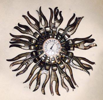 Flamed Barometer – $95